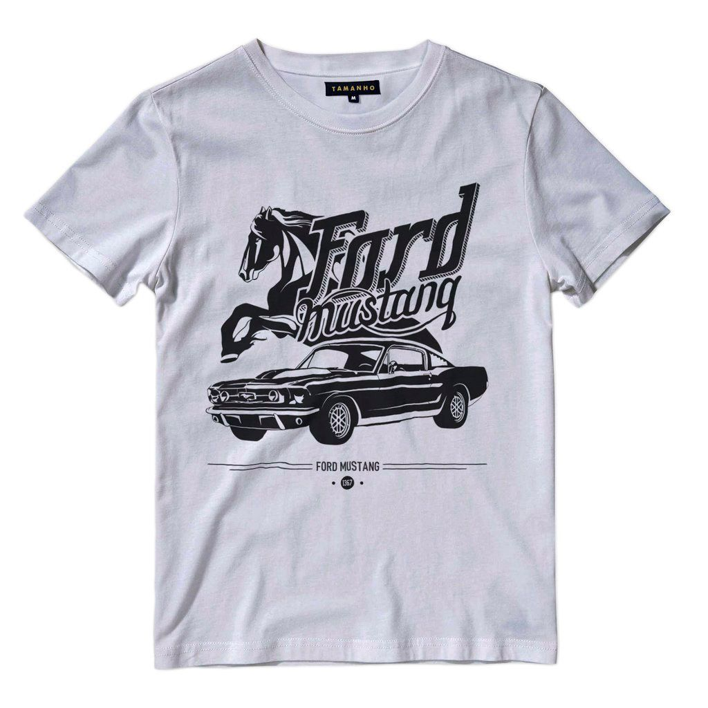 camiseta mustang shelby 1967 Shelby Tamanho G