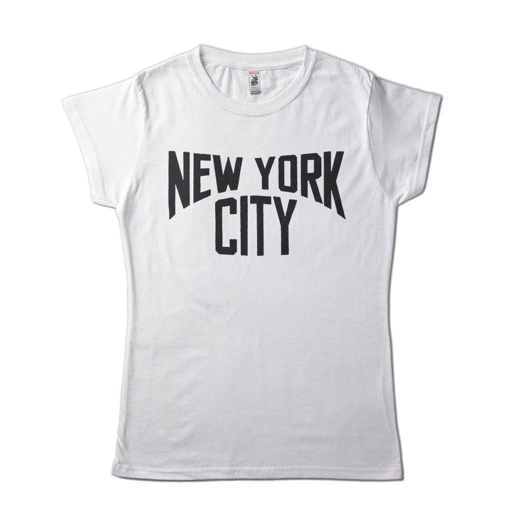 camiseta new york city john lennon beatles feminina