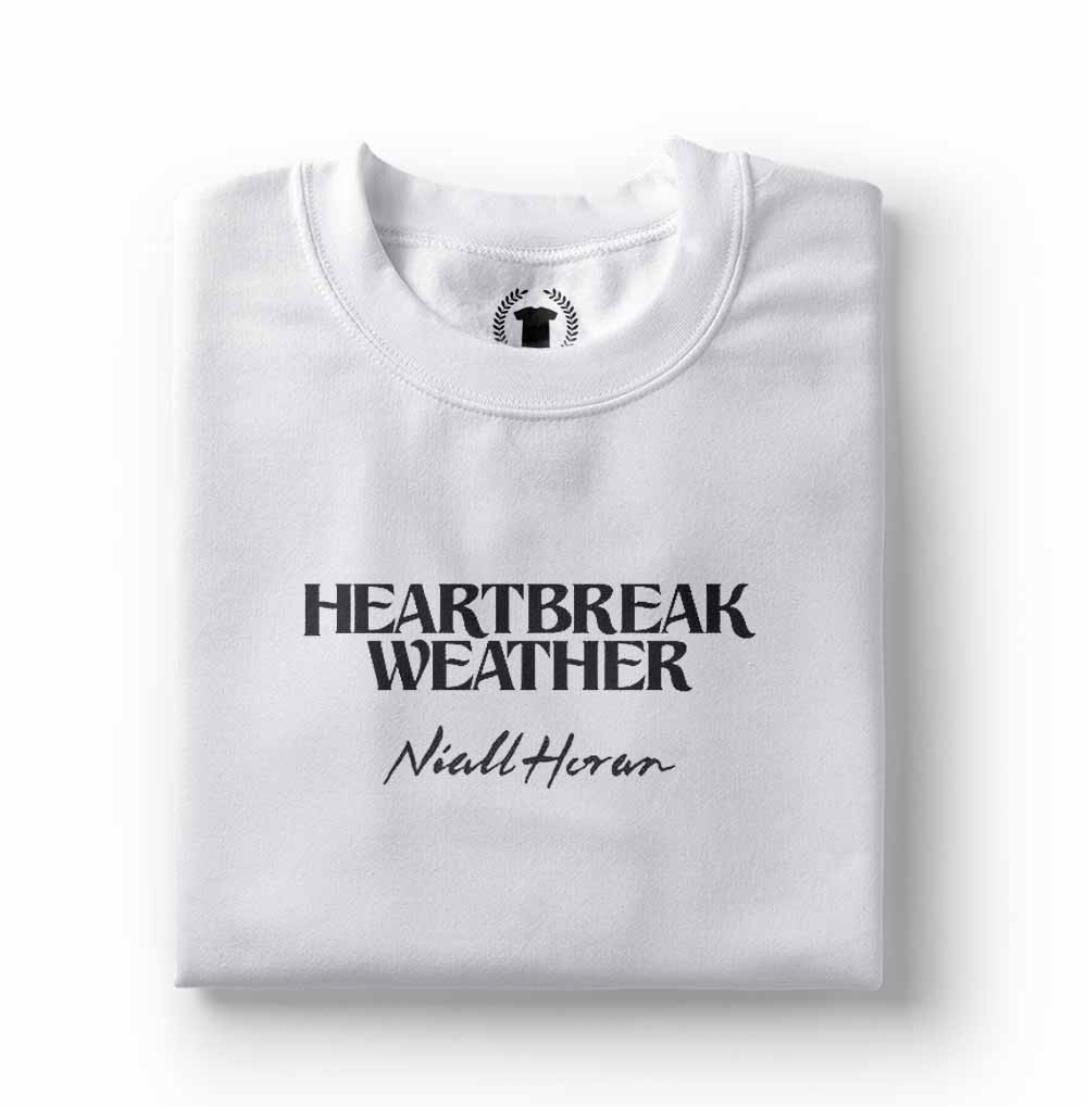 Camiseta Niall Horan Heartbreaker Weather branca
