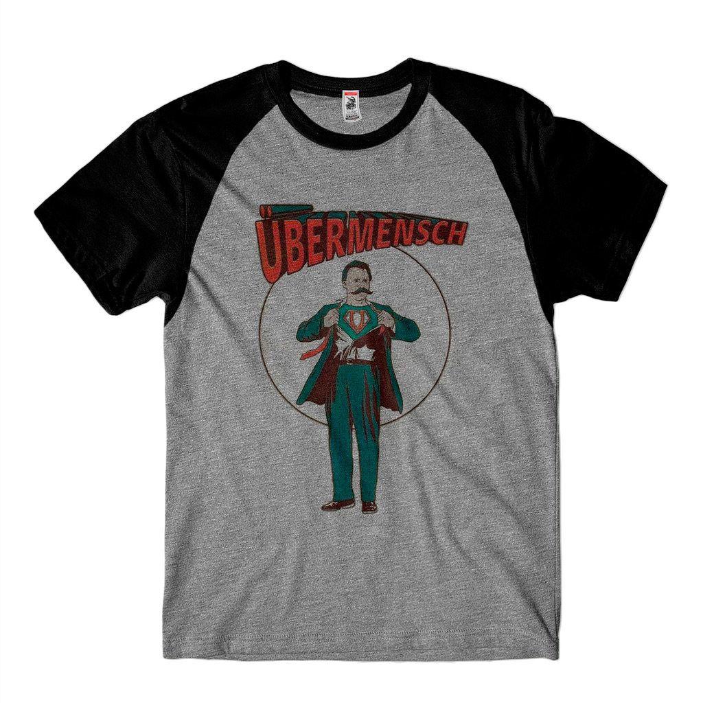 Camiseta Nietzsche Filosofia Super Homem Ubermensch