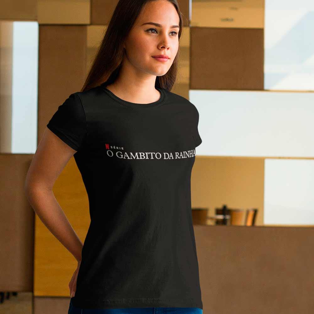 Camiseta O Gambito Da Rainha Série Netflix