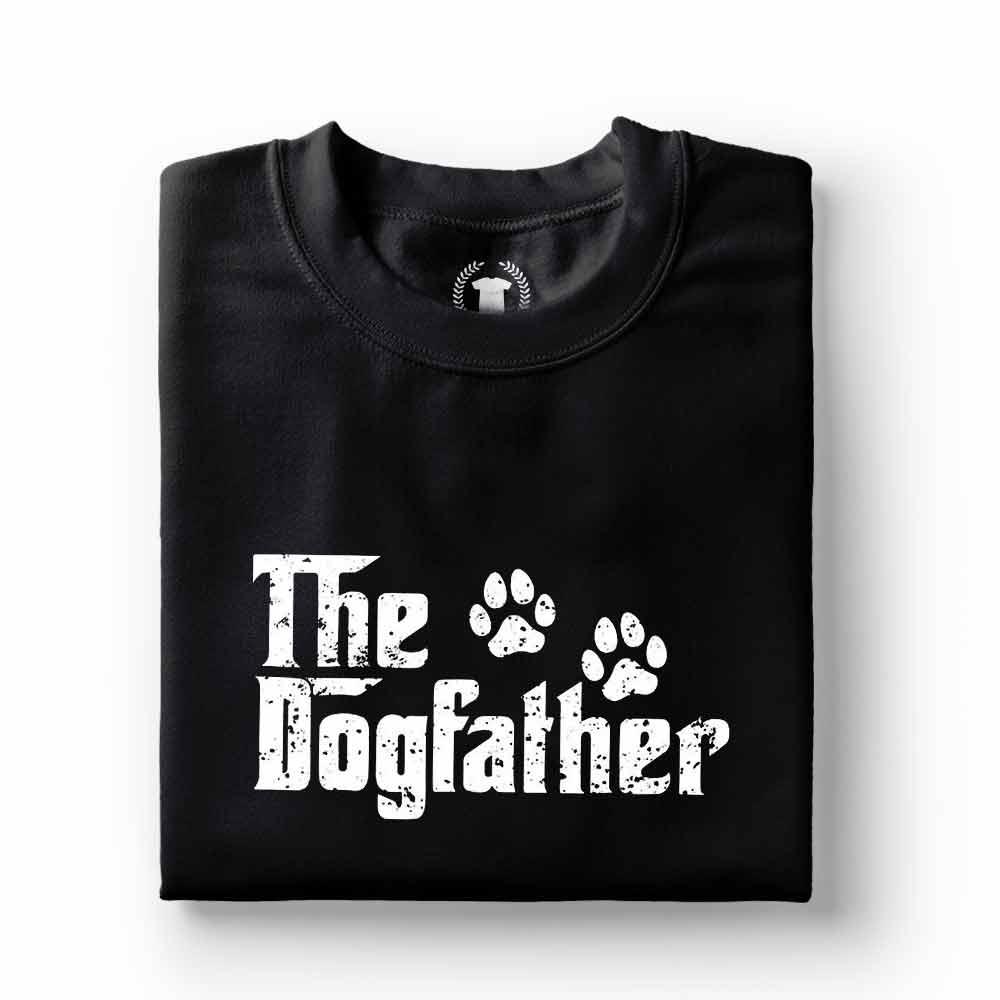 Camiseta pai de cachorro the dogfather