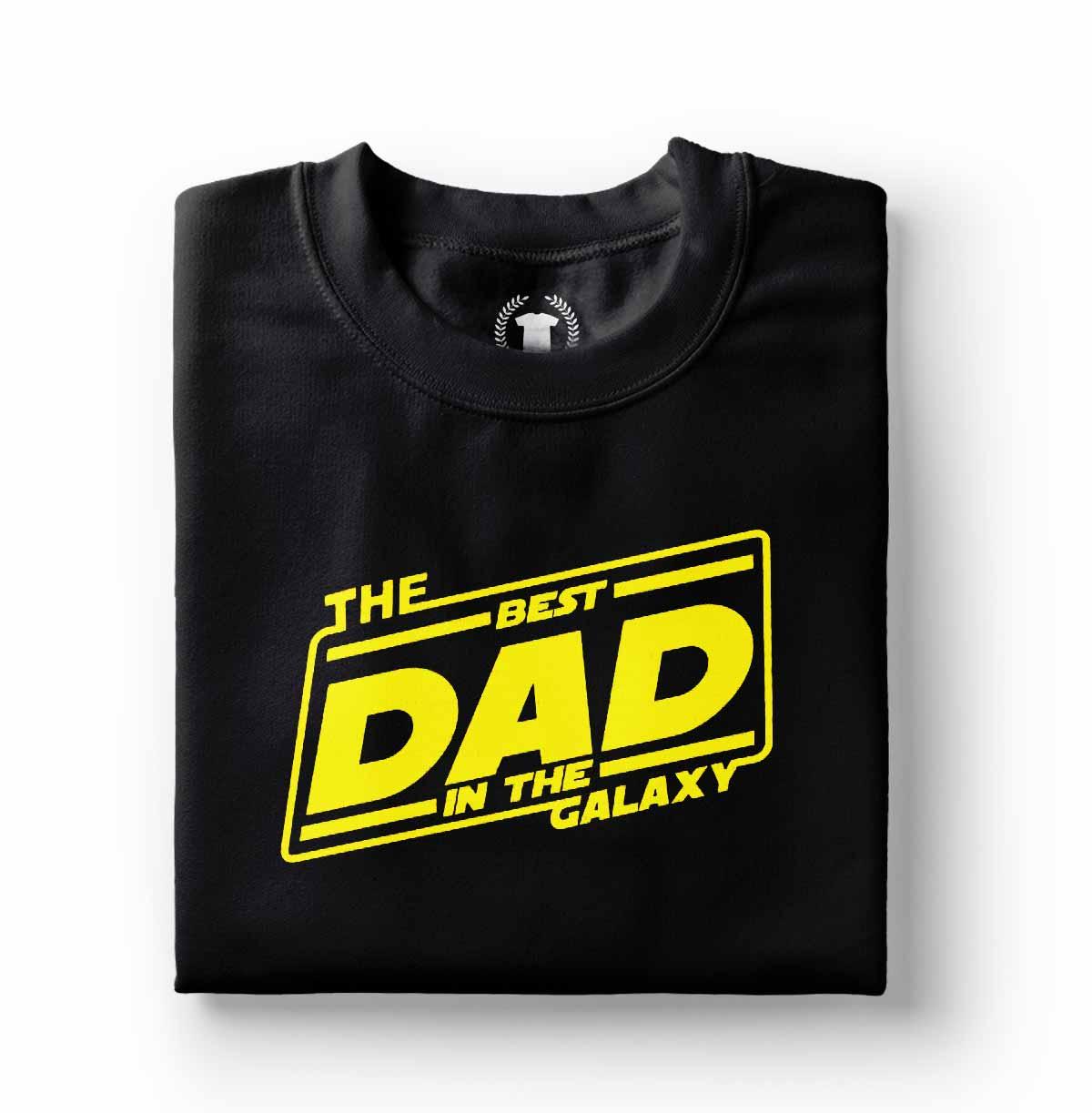 camiseta pai divertido o melhor da galaxia