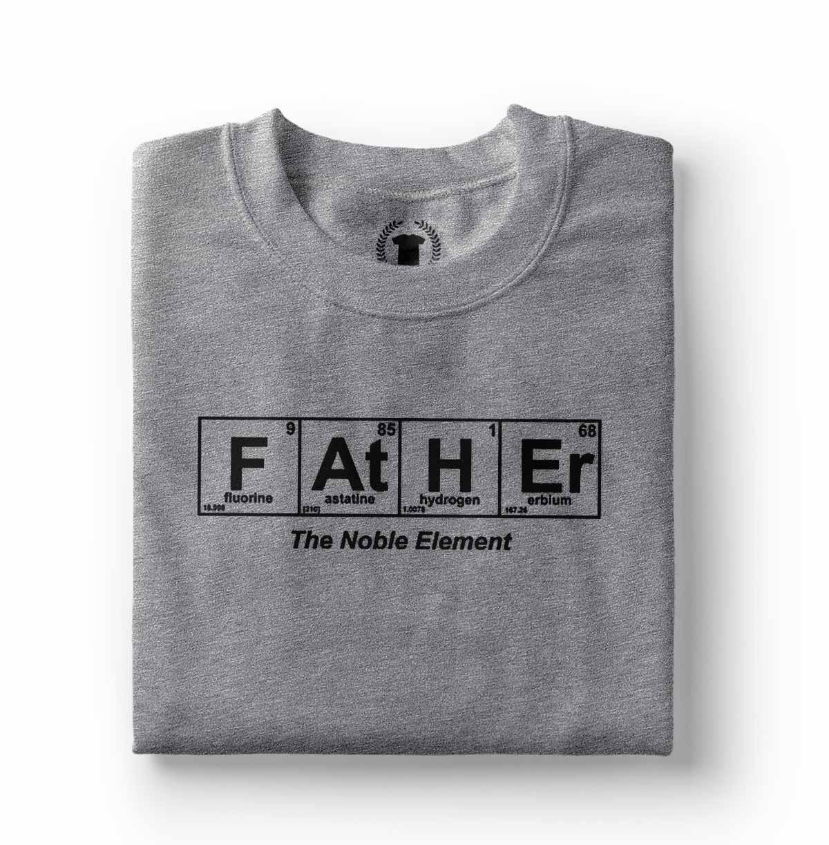 camiseta pai elemento obre