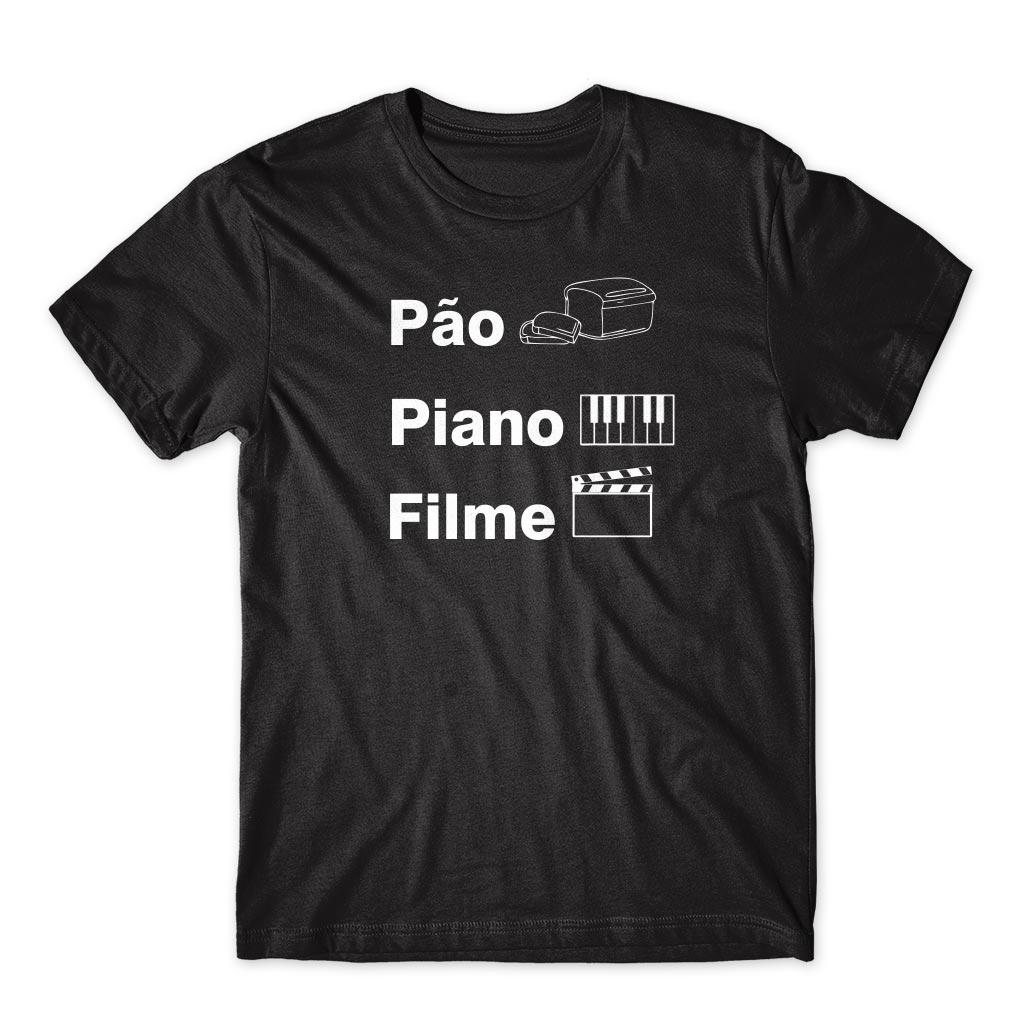 Camiseta Pão Piano Filme