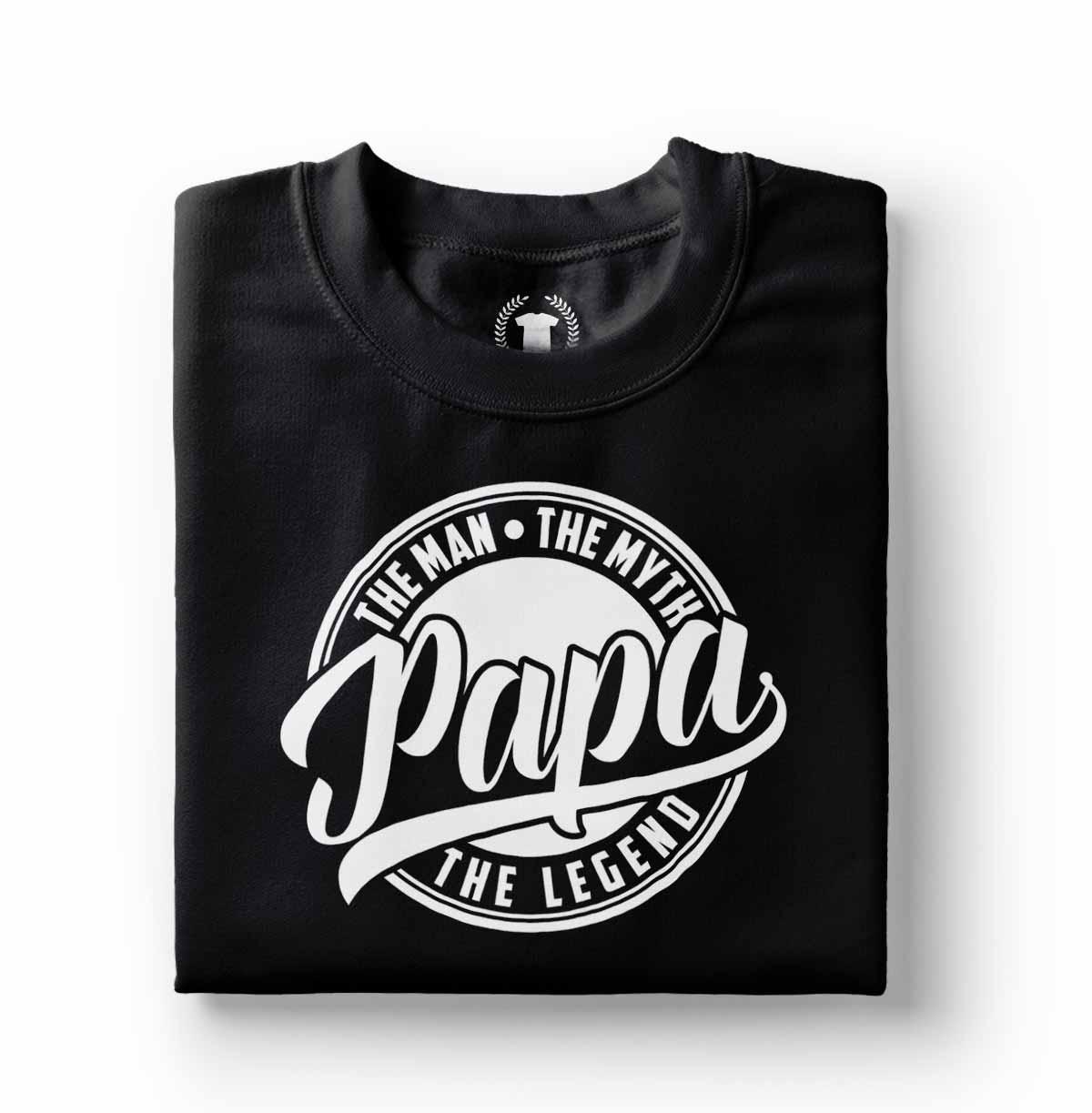 camiseta papai lendario o cara