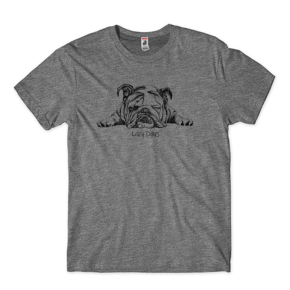 camiseta para dono de cachorro preguicoso masculina