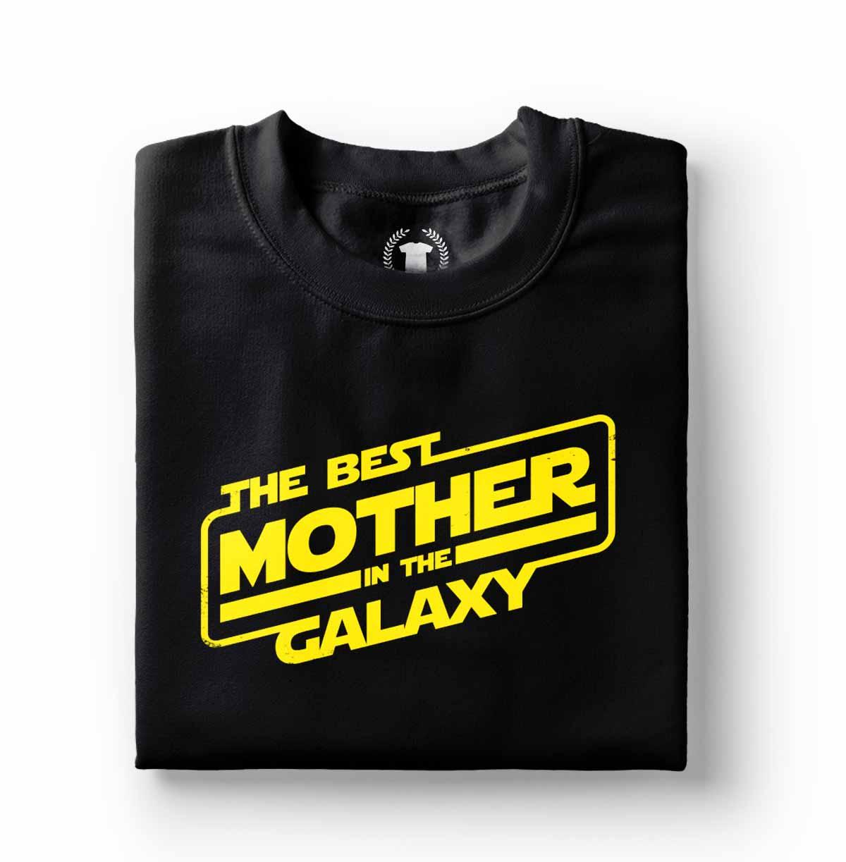 camiseta para melhor mae da galaxia
