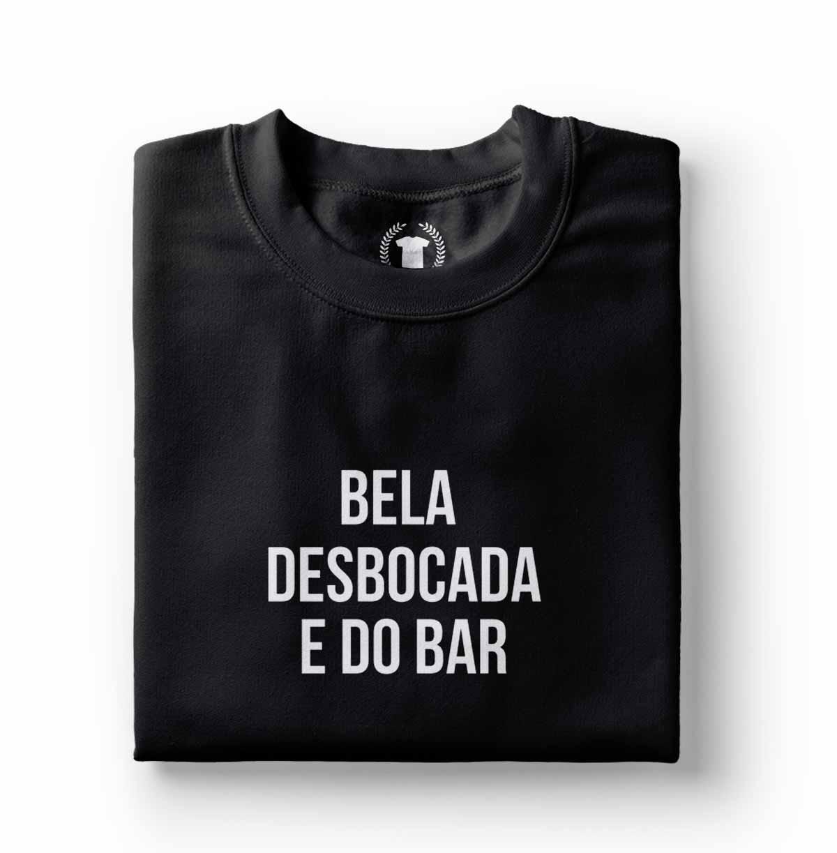 Camiseta parodia Bela Desbocada e do Lar Bar Marcela Temer