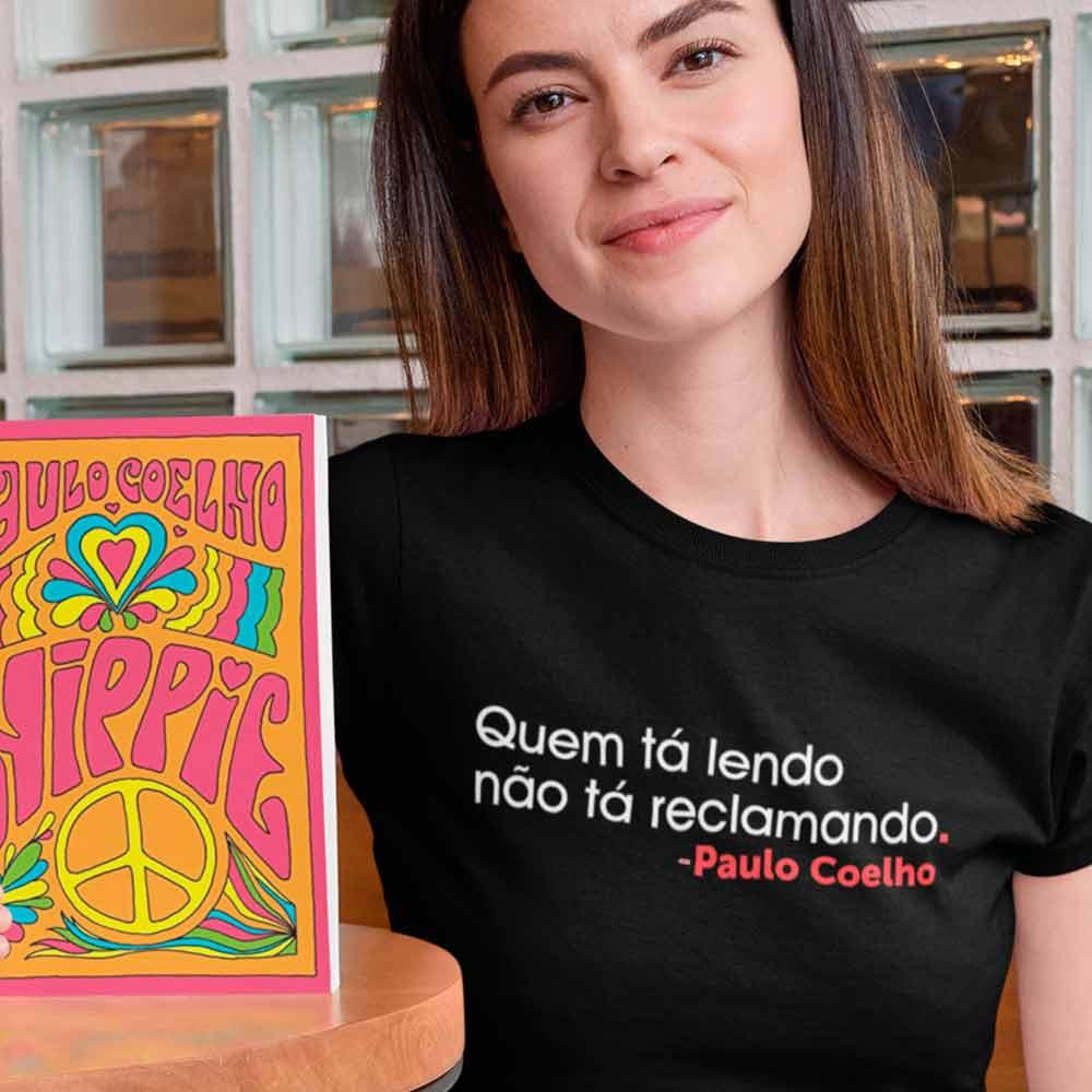 Camiseta Paulo Coelho Hippie Poeme-se