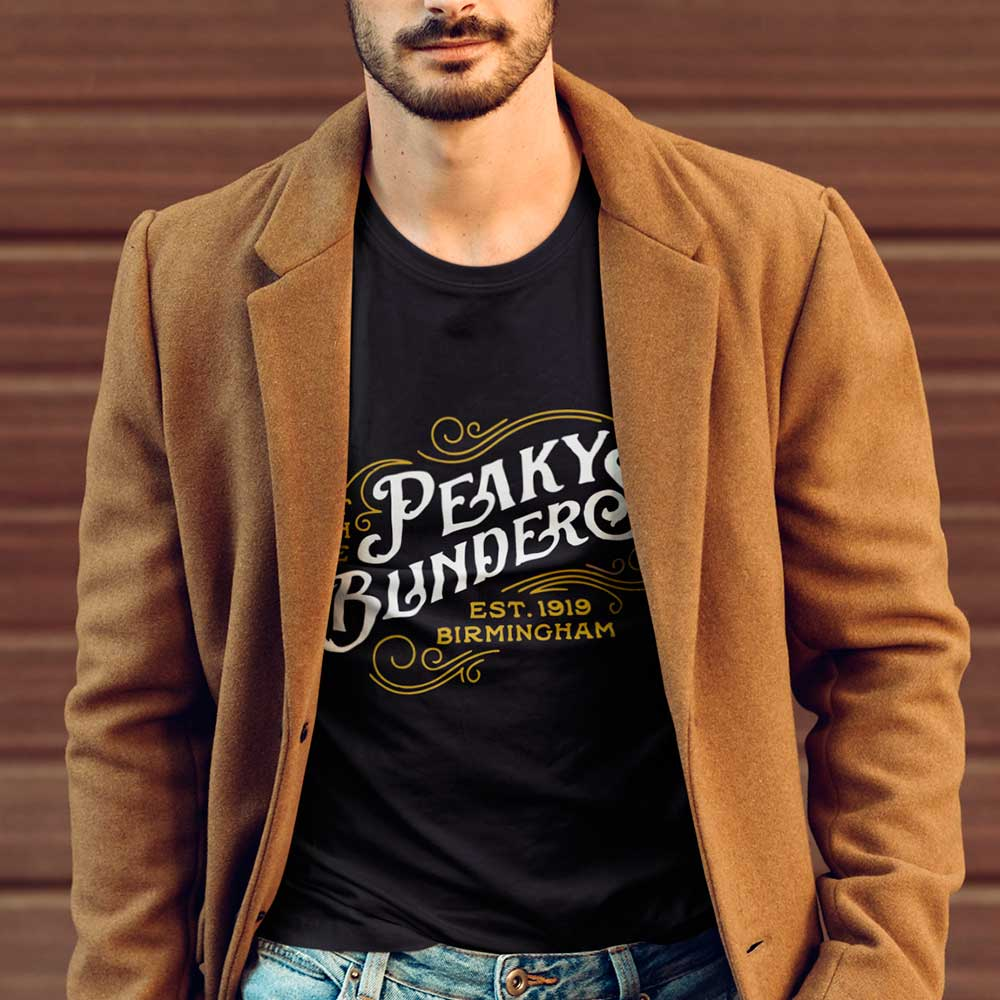 Camiseta Peaky Blinders Birmingham Série TV