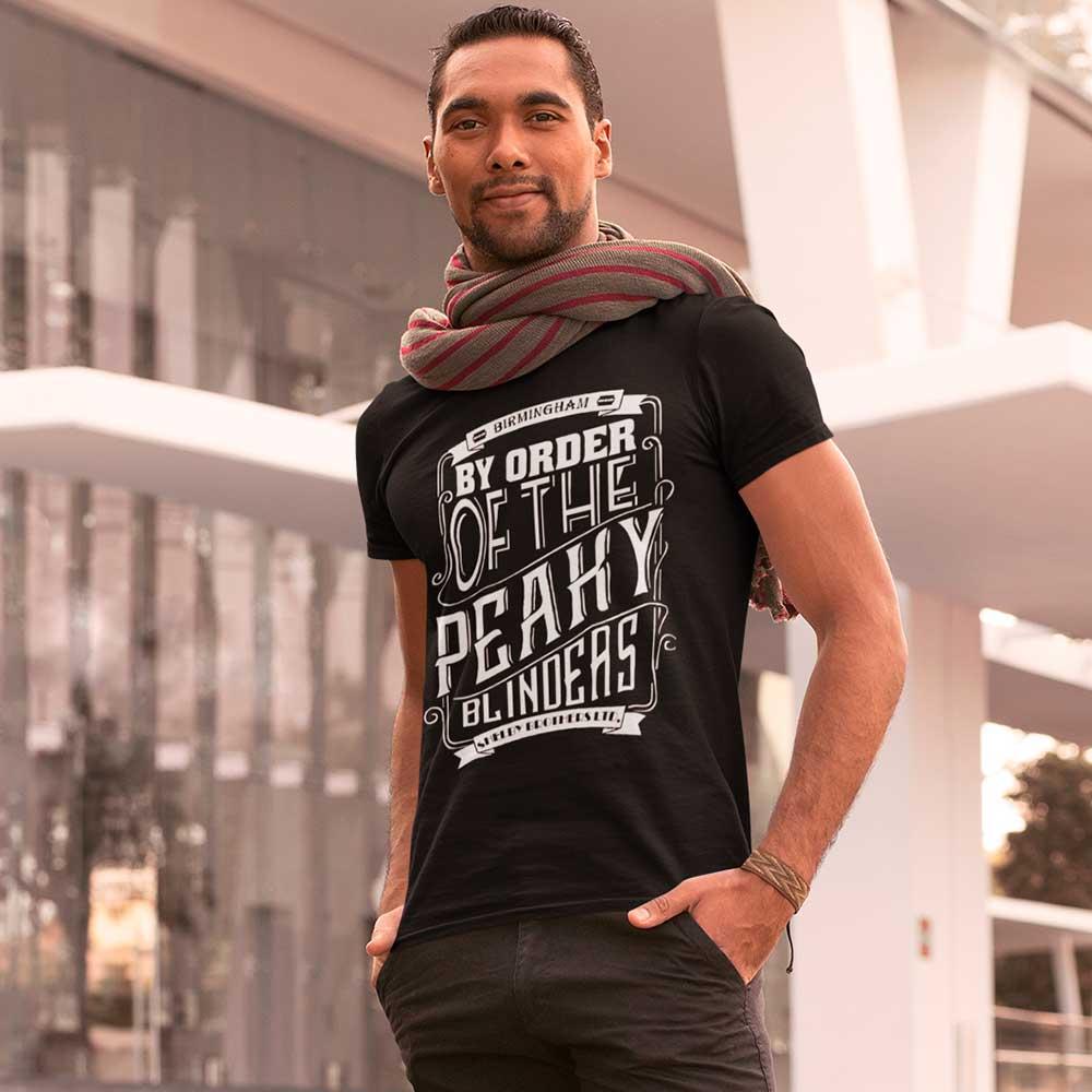 Camiseta Peaky Blinders Birmingham Shelby Brothers