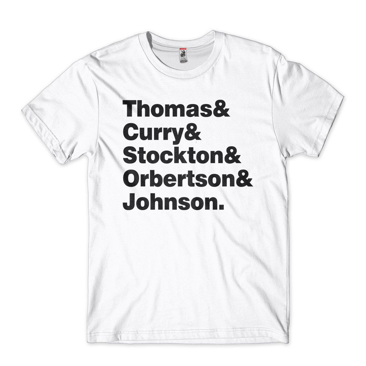 camiseta personalizada lendas da NBA armadores johnson curry