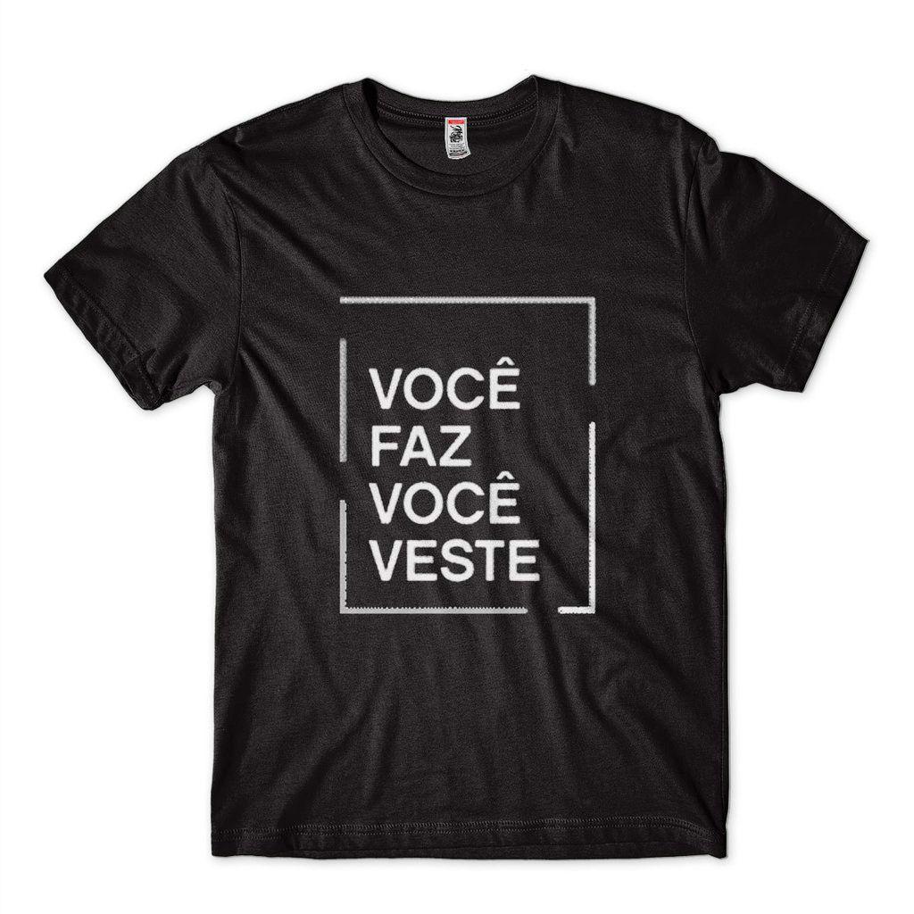 Camiseta personalizada Masculina Estampada - Faca sua camisa