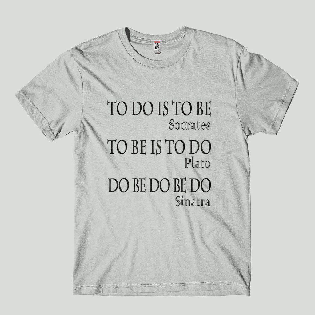 camiseta Platao Socrates Sinatra Humor  - tamanho G