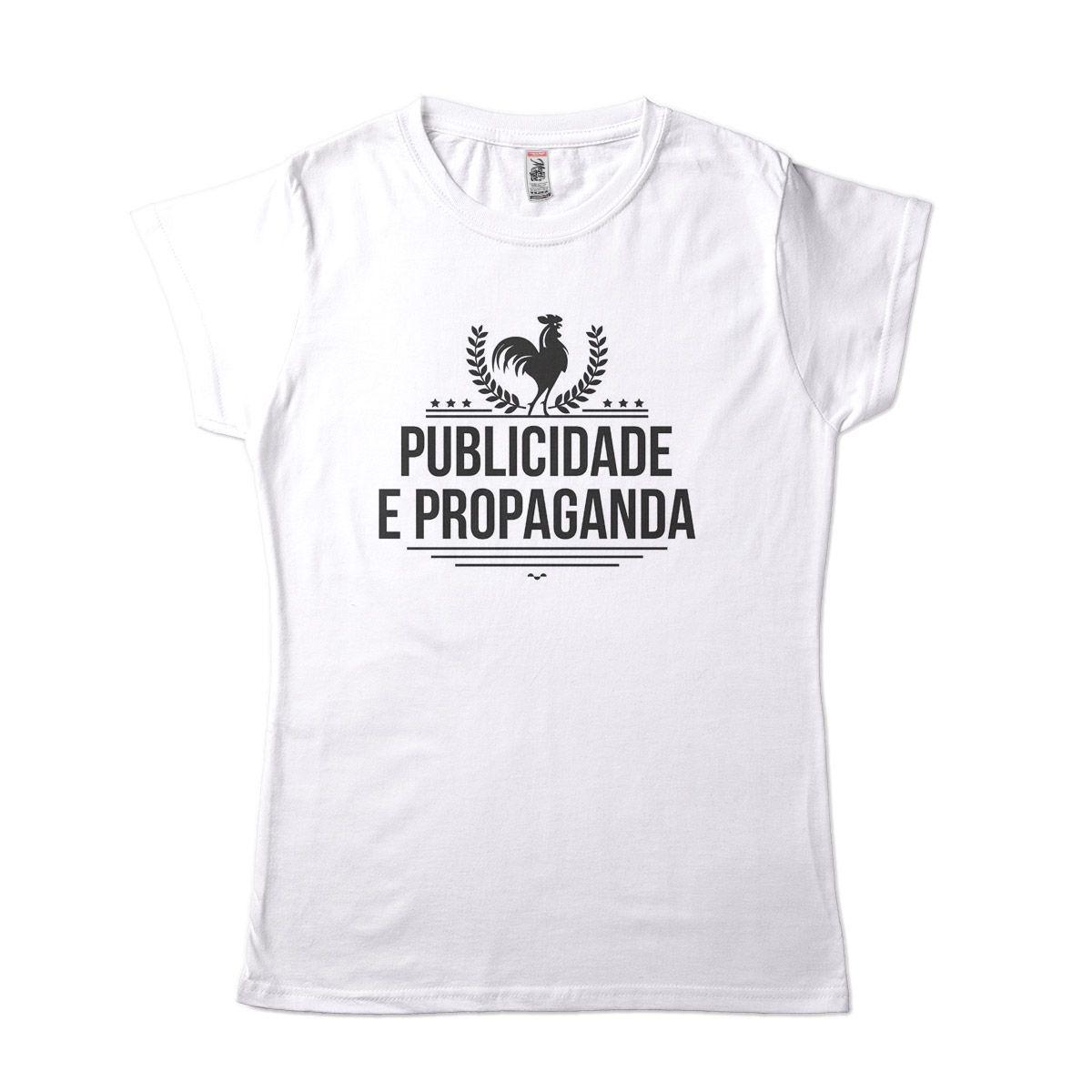 camiseta publicidade e propaganda universitaria