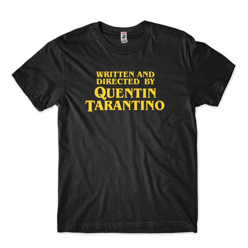 camiseta quentin tarantino diretores de cinema pulp fiction