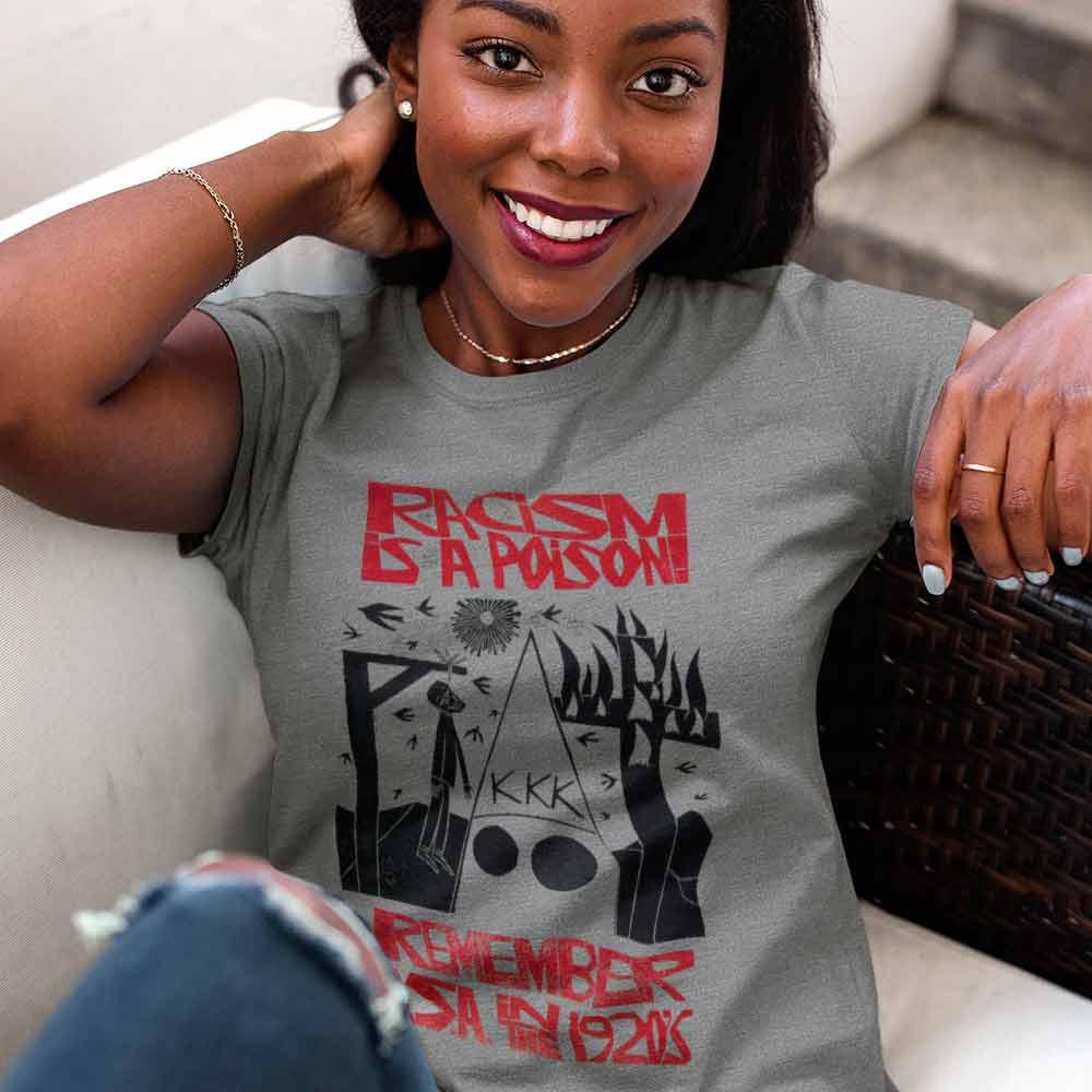 camiseta racismo e toxico