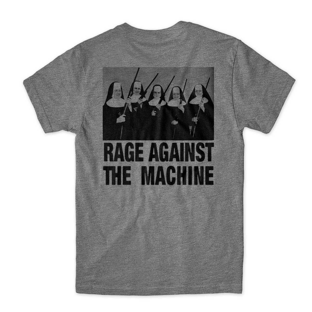 Camiseta Rage against the machine costas freiras armadas