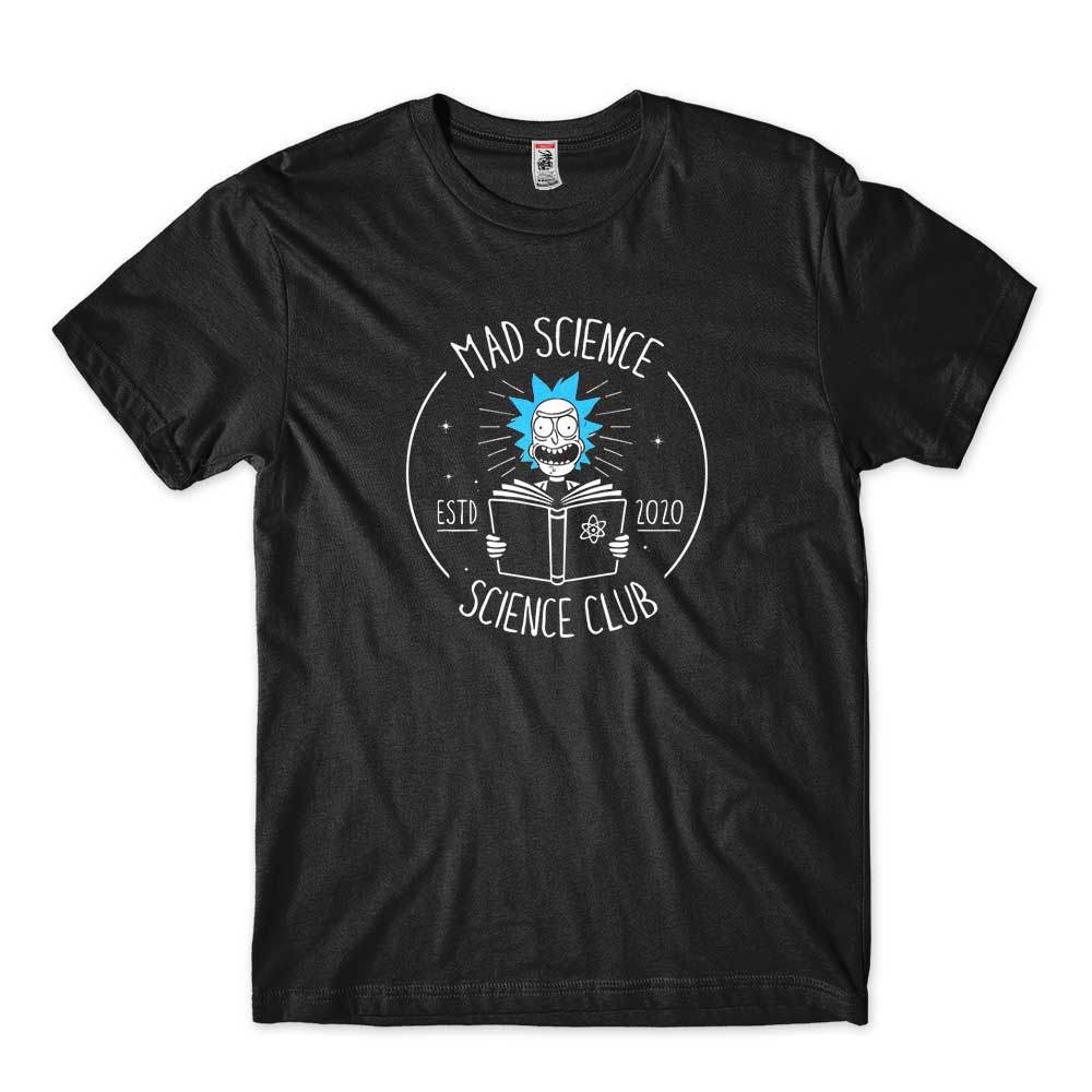 camiseta rick and morty science club