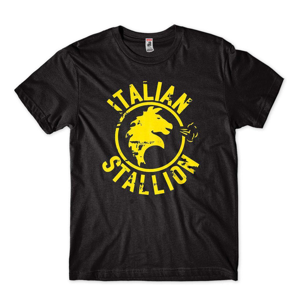 Camiseta Rocky Balboa Apollo Creed Italiano Camisa Masculina