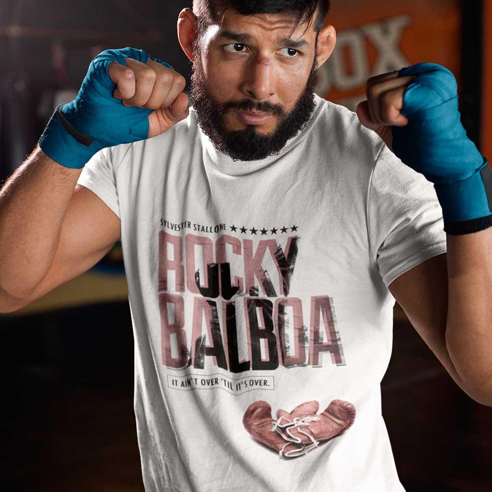 Camiseta Rocky Balboa Boxeador Stallone Eye Of The Tiger