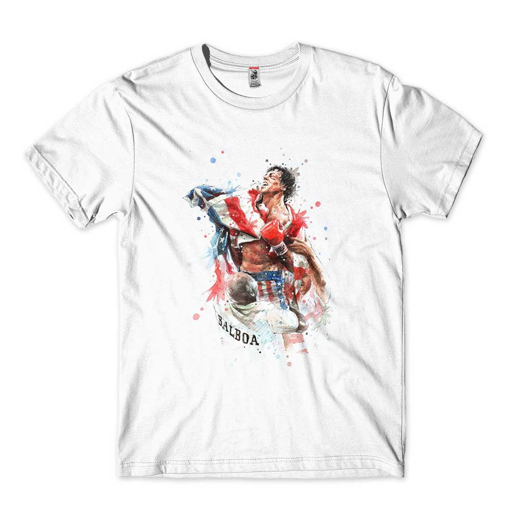 camiseta rocky balboa filmes classicos