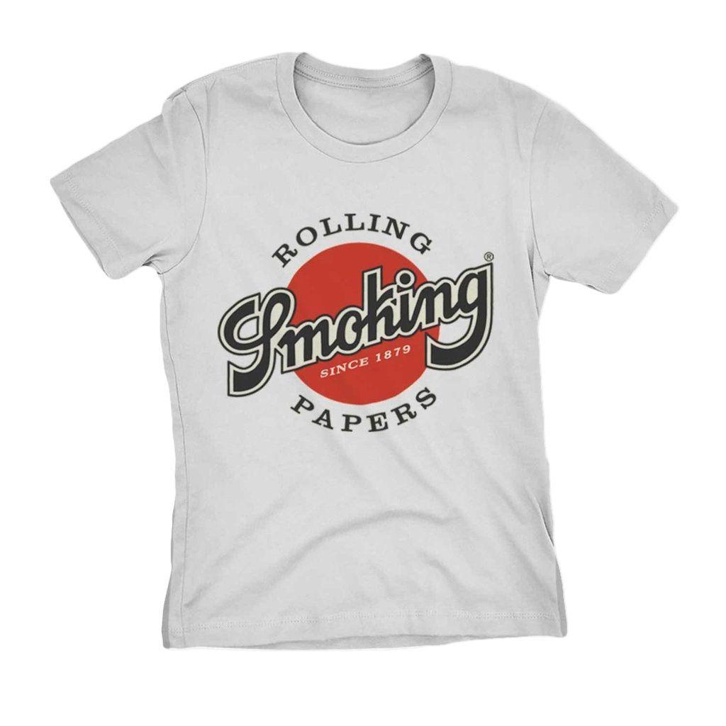 Camiseta Rolling Smoking Papers Seda Smoke Erva 4:20