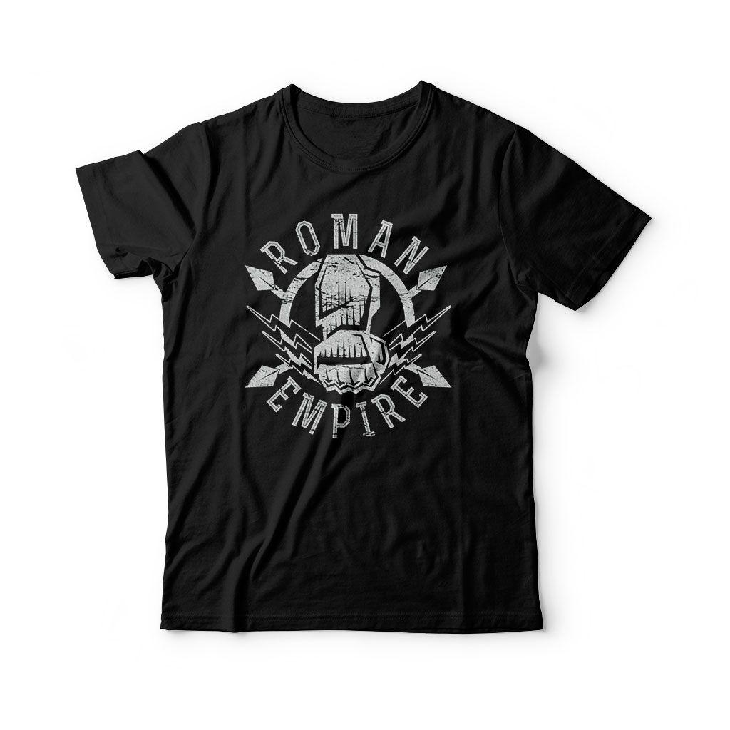 Camiseta Roman Reigns Infantil preta