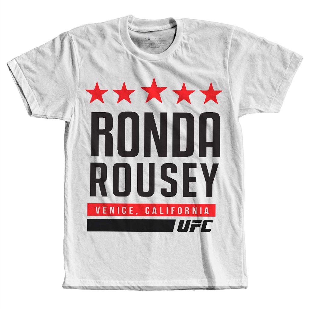 Camiseta Ronda Rousey Lutadora Mma Wwe Rowdy Masculina