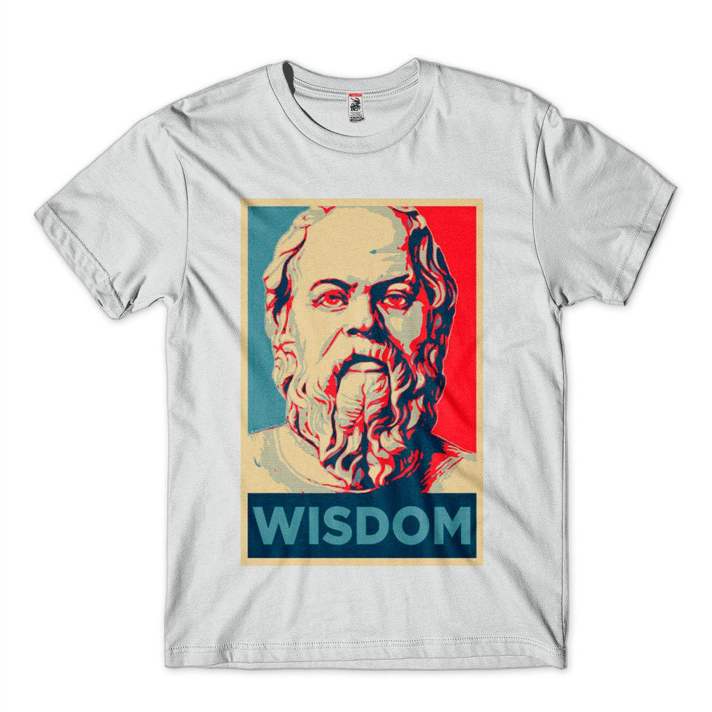 Camiseta Sabedoria Camisa Filosofia Wisdom Platao Mestre