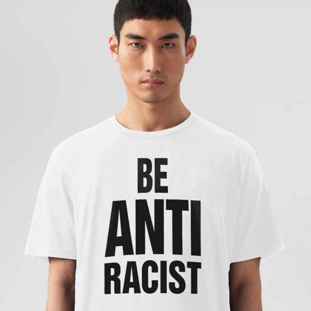 camiseta seja contra o racismo