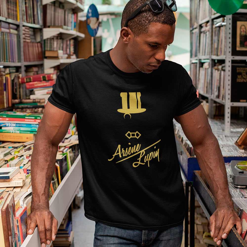 Camiseta Série Arsène Lupin Dourado
