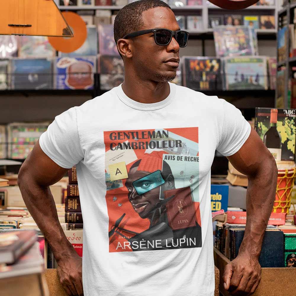 Camiseta Série Arsène Lupin Gentleman Cambrioleur