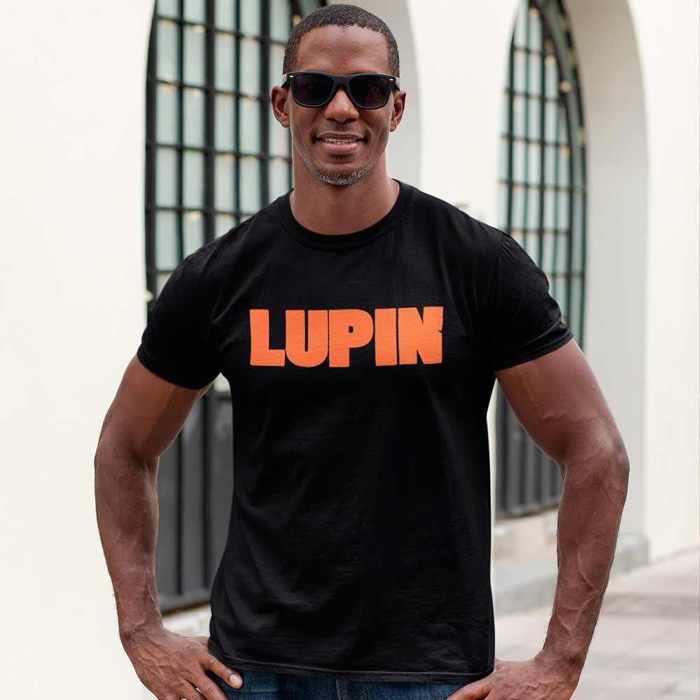 Camiseta Série Arsène Lupin Logo Laranja