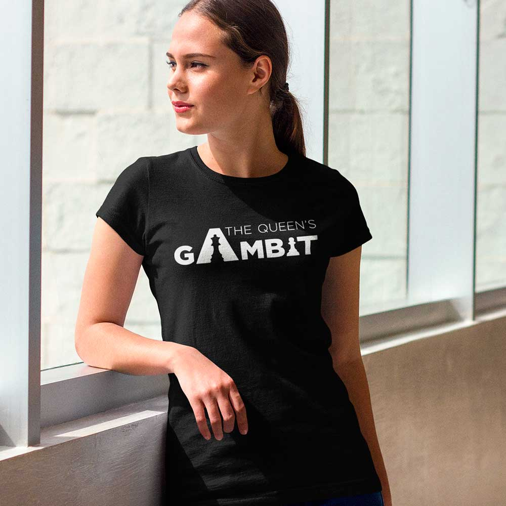 Camiseta Série O Gambito Da Rainha Queen Gambito