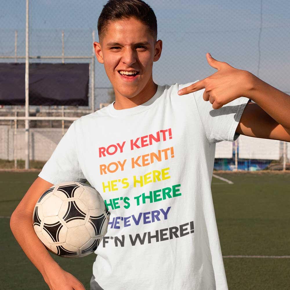 Camiseta Series Ted Lasso Roy Kent