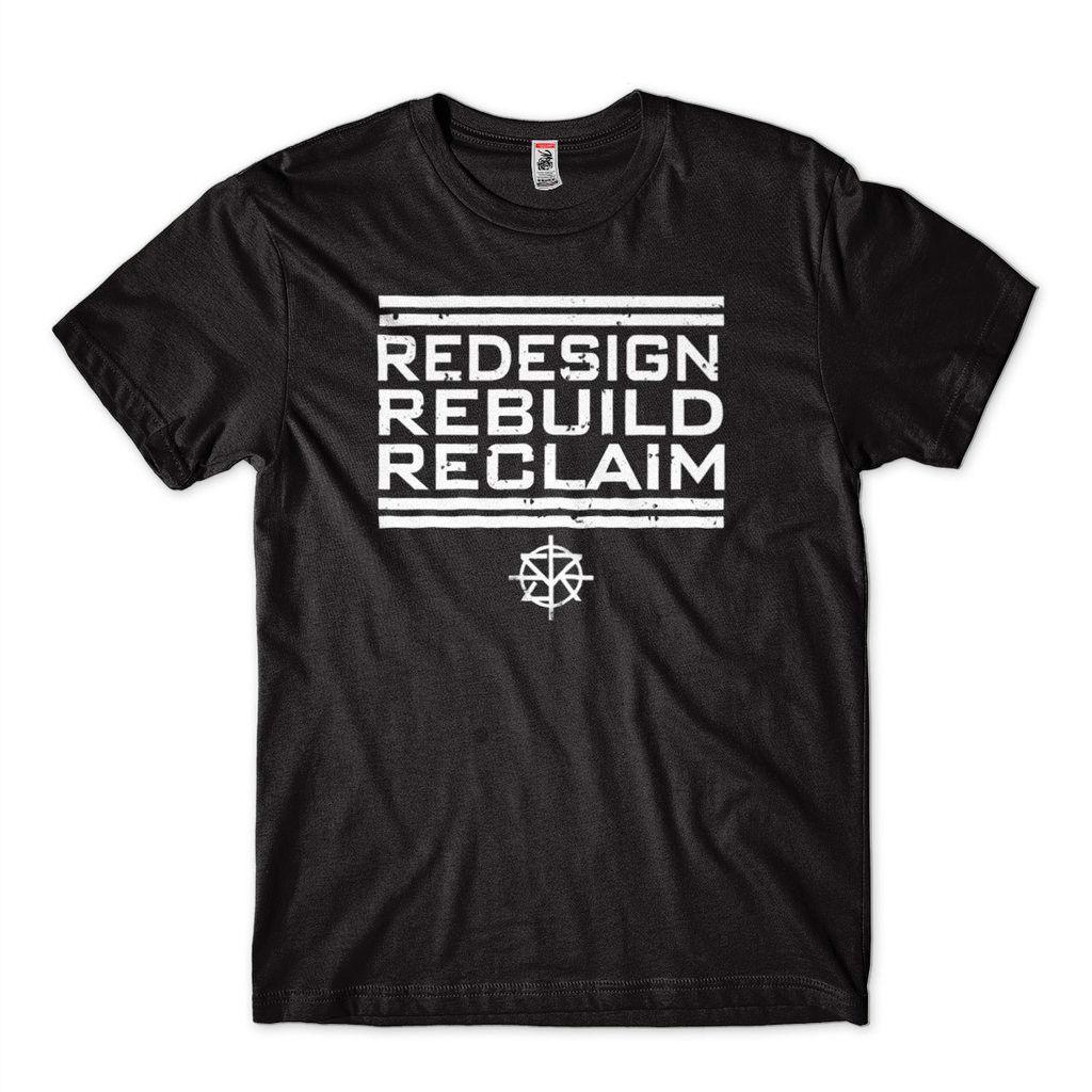 Camiseta Seth Rollins 2019 Redesign Redeem Reclaim Wwe Raw