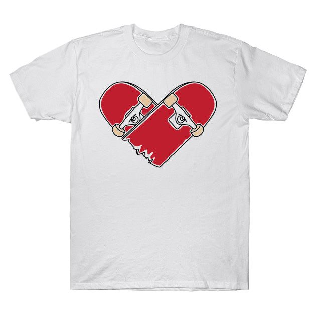 camiseta skateboarding masculino branca