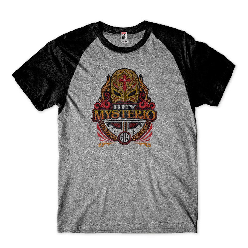 Camiseta Smackdown Masculina Rey Mysterio Mask WWE