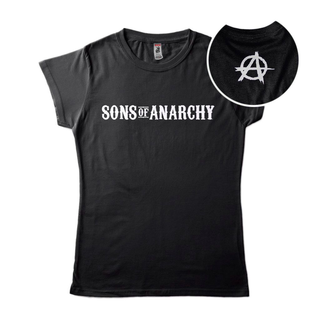 Camiseta Sons Of Anarchy Camisa Feminina Blusa