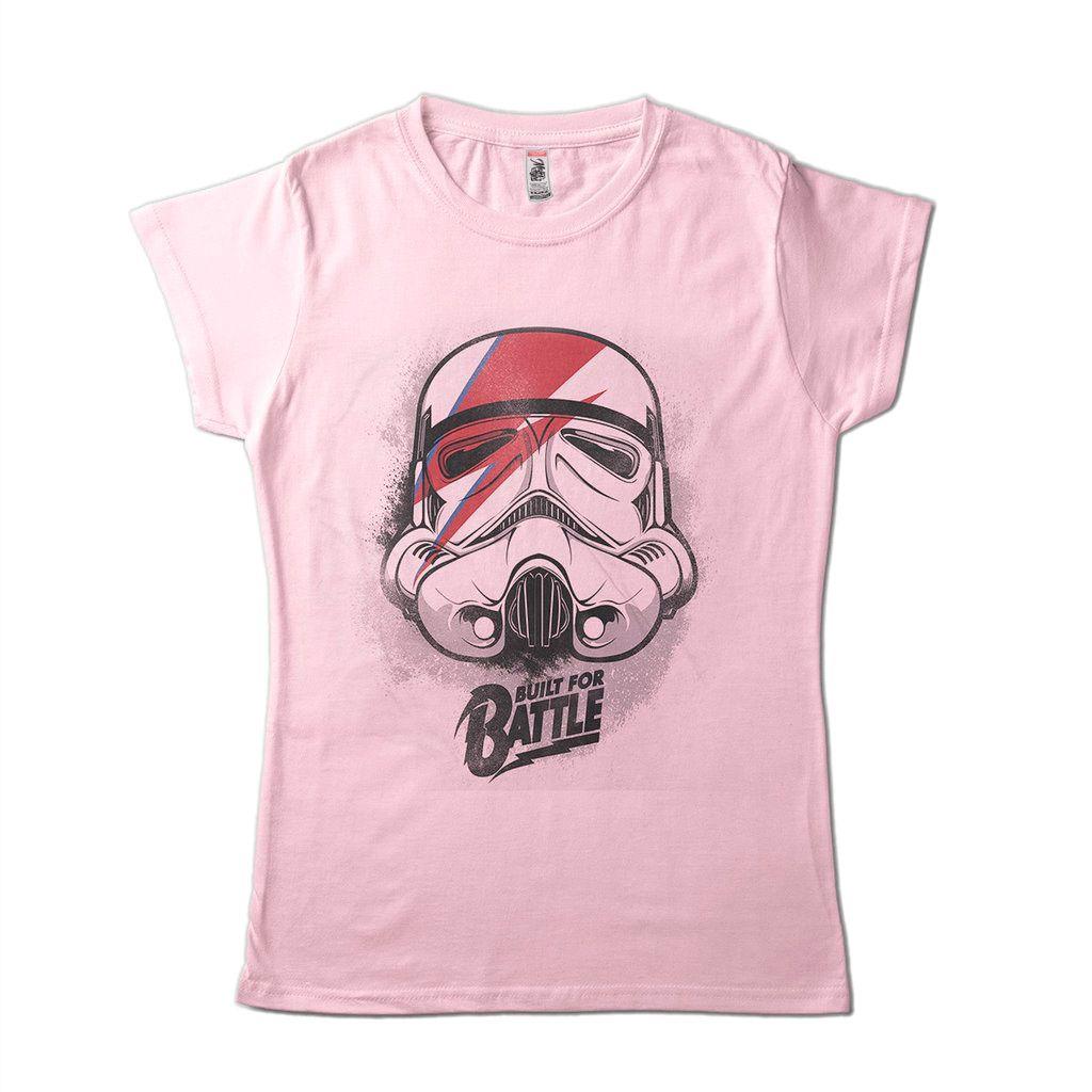 Camiseta Star Wars Trooper Camisa Feminina Clone