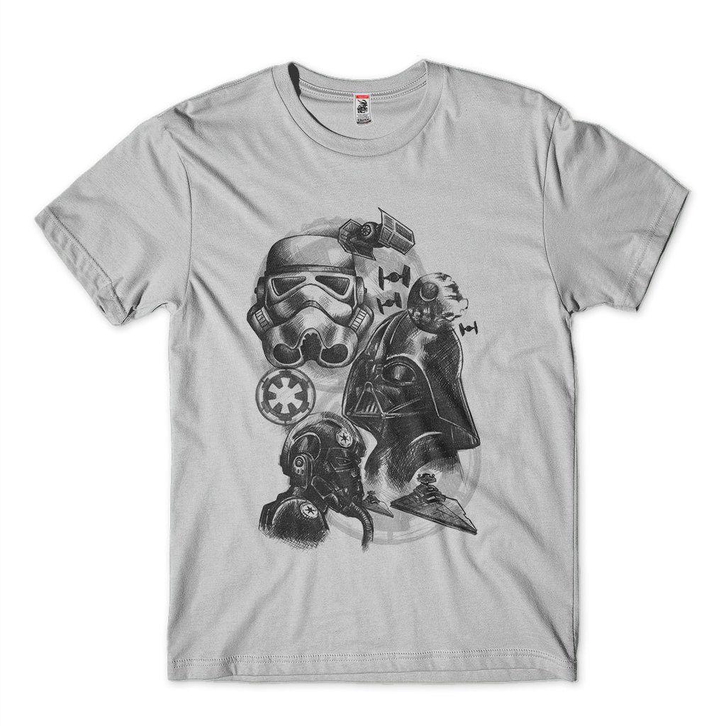 Camiseta Star Wars Trooper Darth Vader Blusa
