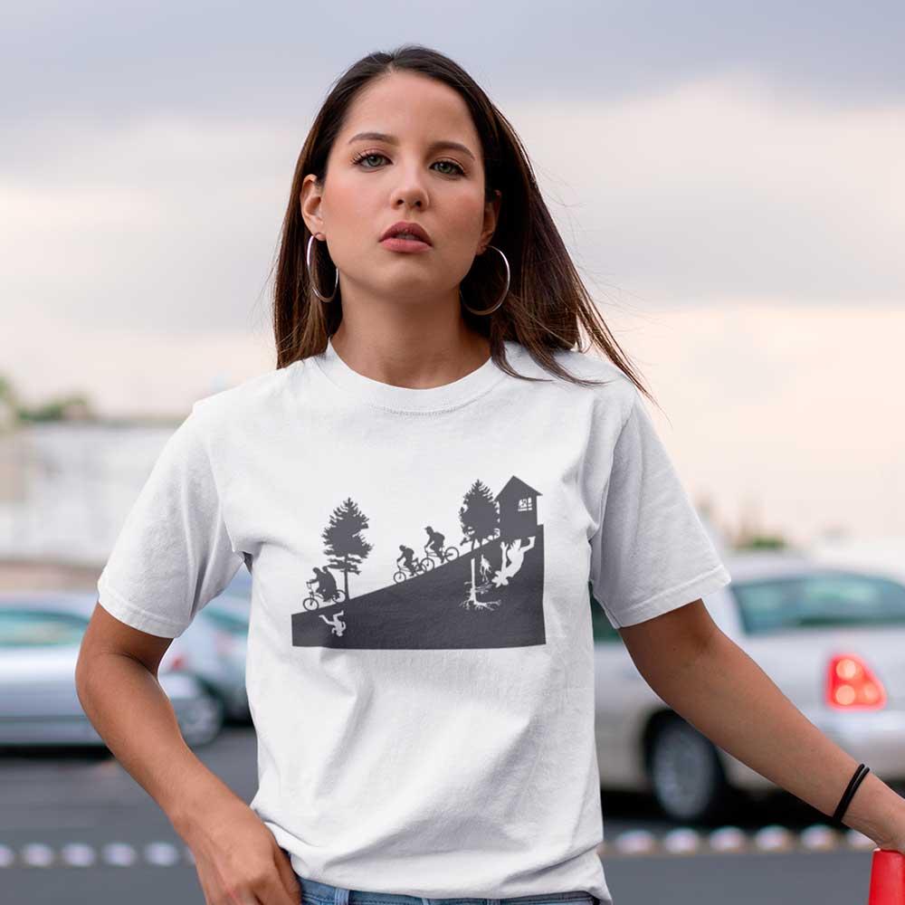 Camiseta stranger things Riachuelo Demogorgon