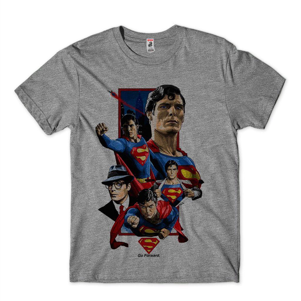 Camiseta Super Homem Clark Kent Camisa Masculina Heróis  DC Comics