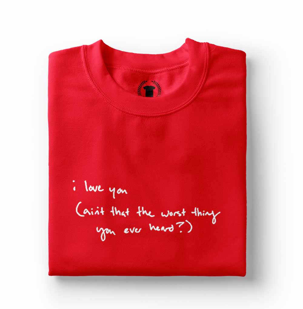 Camiseta Taylor Swift Cruel Summer Lyrics