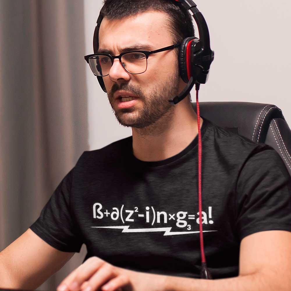 Camiseta TBBT formula bazinga
