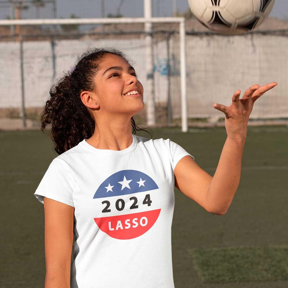 Camiseta Ted Lasso para Presidente 2024