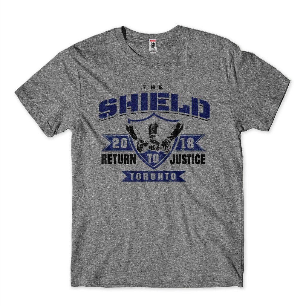 Camiseta The Shield 2018 Back To Toronto Wwe Masculina