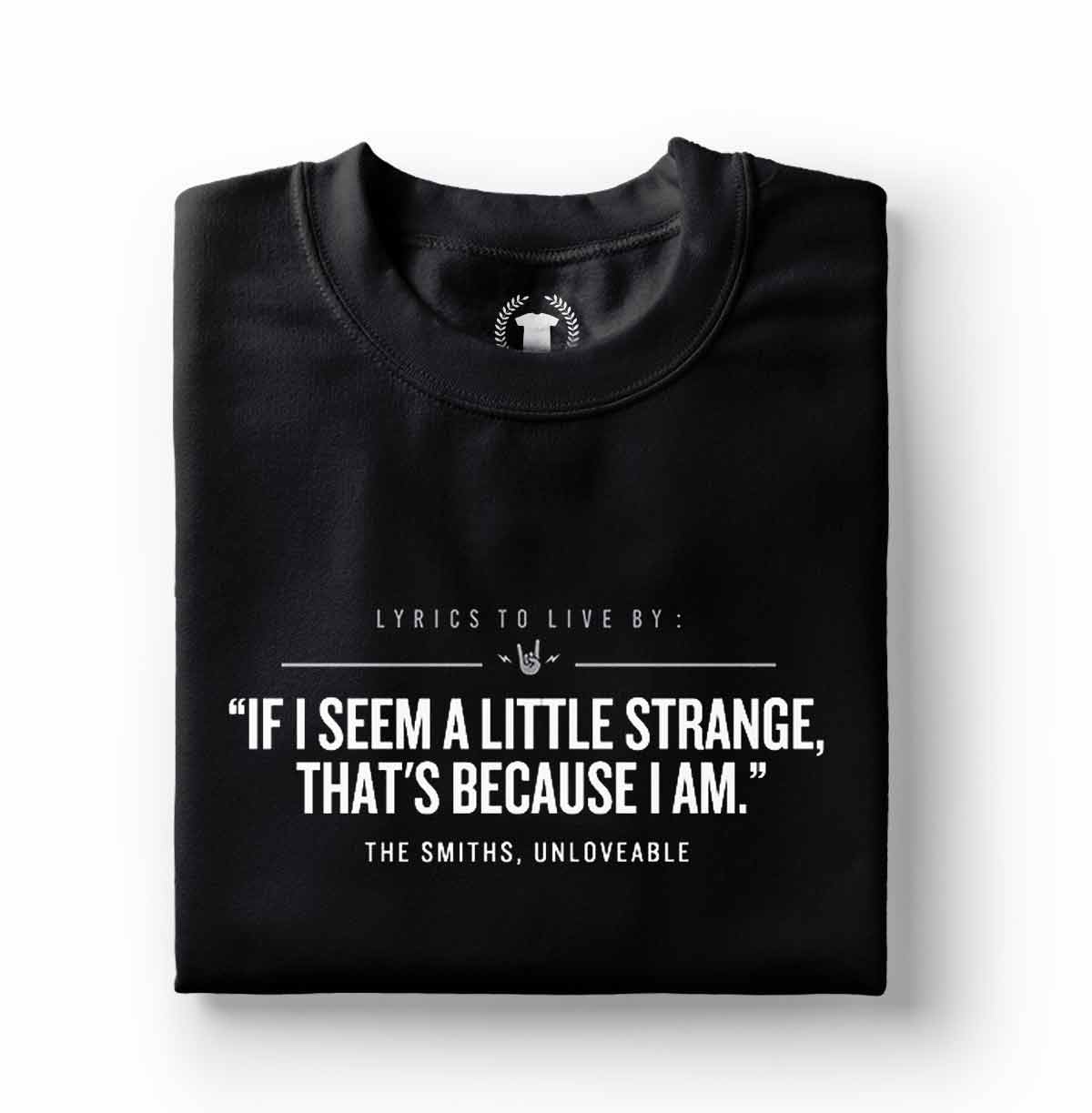 camiseta the smiths unloveable